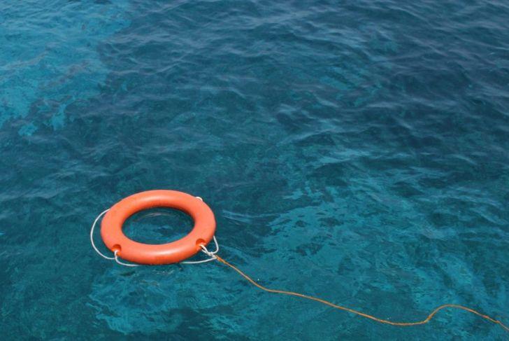 blue orange ocean