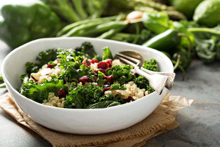 kale in salads