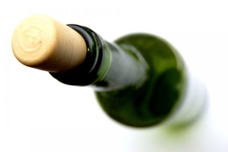 shoe wine bottle open