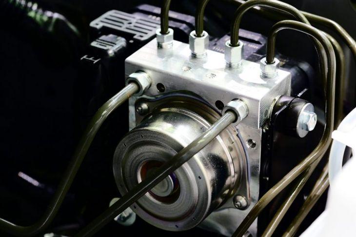 Antilock-braking ABS