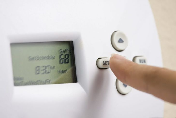 thermostat cold air conditioning