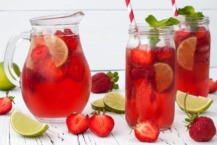 sangria ice chilled