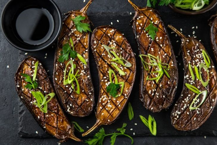 miso grilled eggplant
