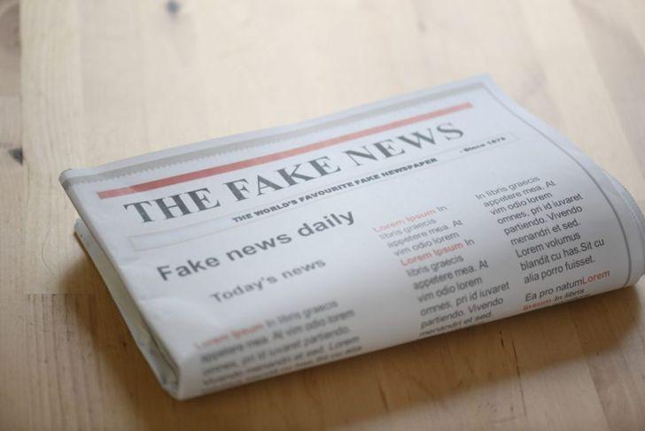 fake news satire