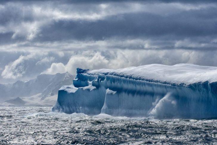 ice Antartica glacier