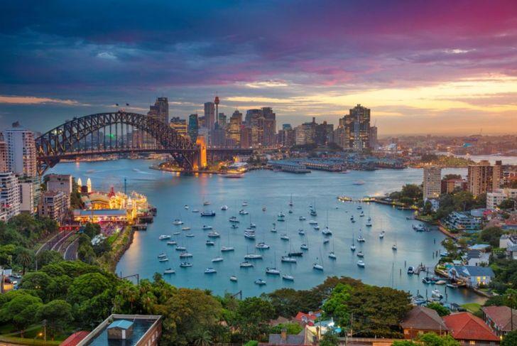 Australia coastline Sydney