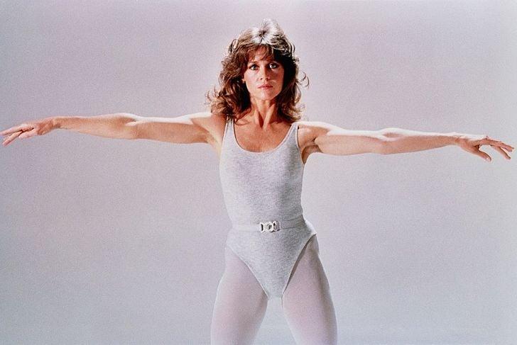 LOS ANGELES - CIRCA 1990: Actress Jane Fonda poses for a portrait circa 1990 in Los Angeles, California.
