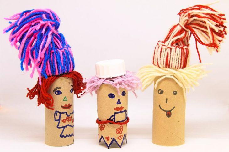 toilet paper roll figures