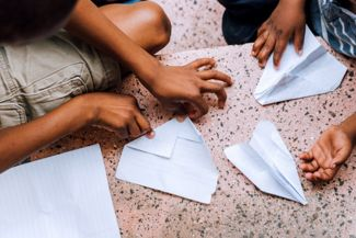 Making A Paper Airplane Can Be Easy Or Time Consuming, Your Choice