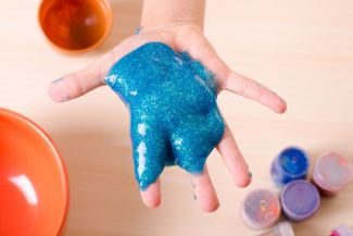 Glue Slime Recipe and Activities