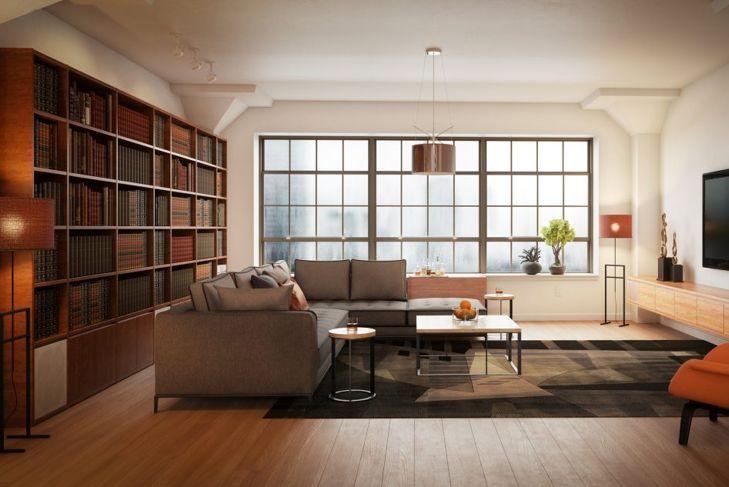 modern bookcase shelves