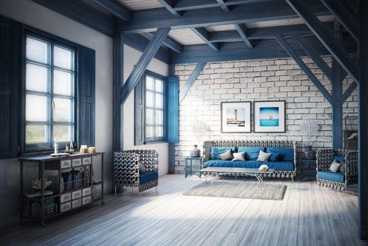 classic blue comfort home