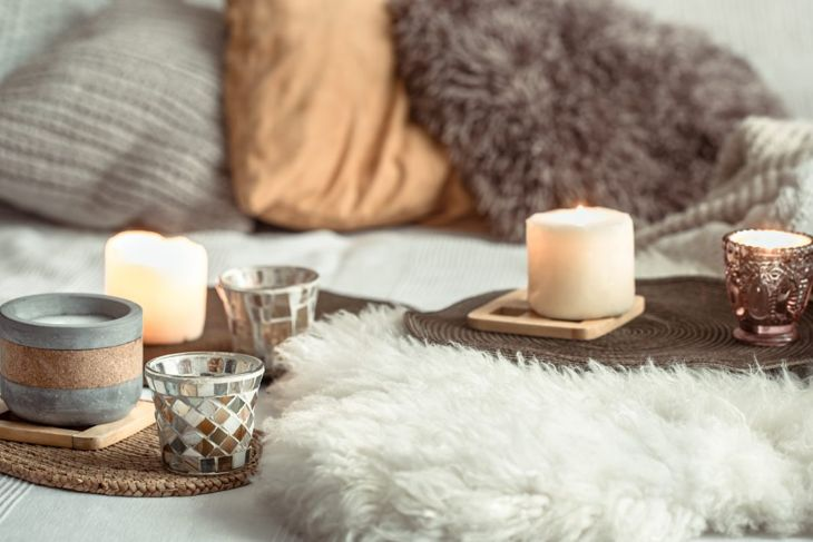 Candles provide instant hygge.