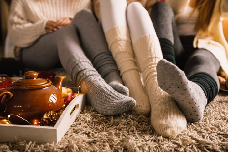 Hygge works best when it involves friends and family.