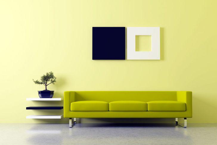 color elements harmonious interior