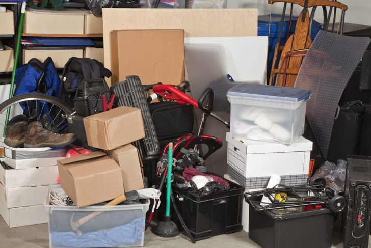 Organizing your garage frees up storage space for clutter in the house.