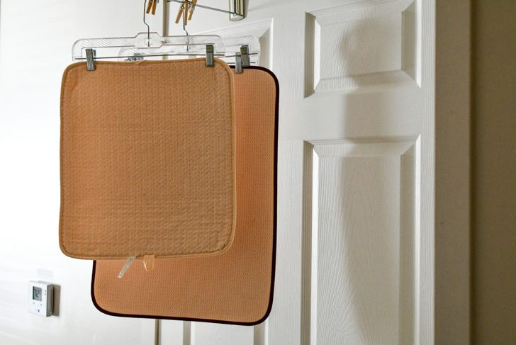 bath mat hang dry