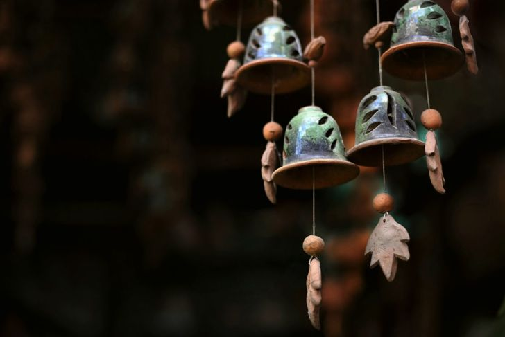 art outdoor wind chimes