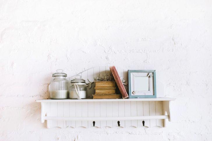 Rustic shelves rustic entryway shelf