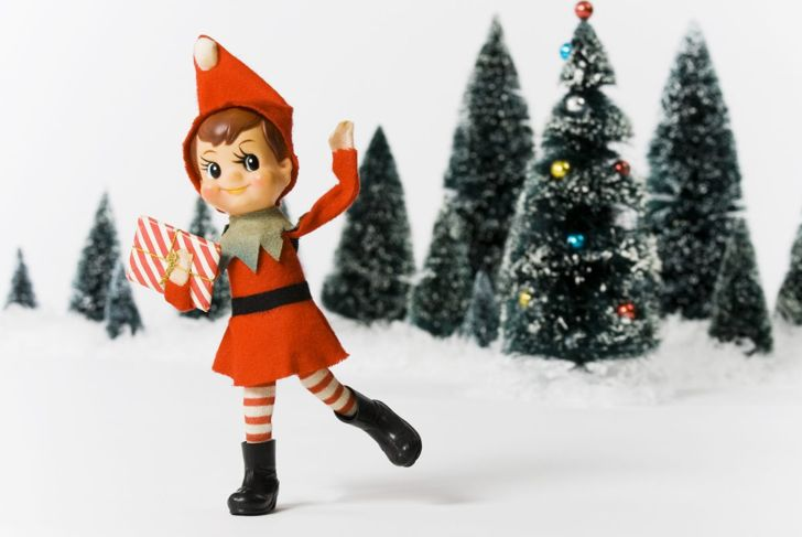 Get creative with your elf's arrival