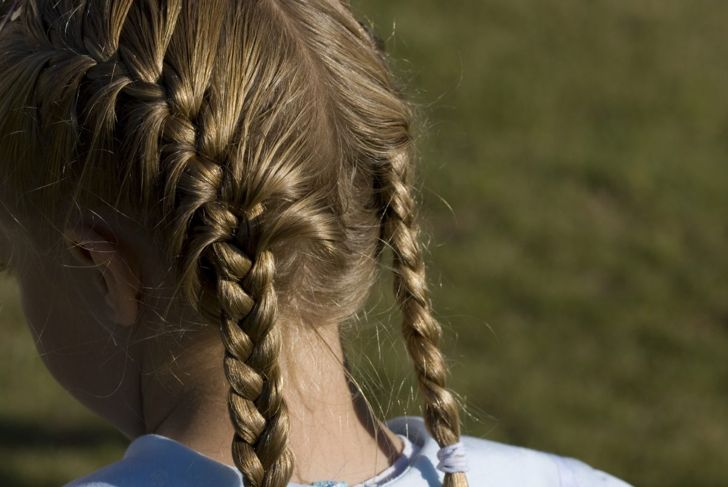 French braids double French braids