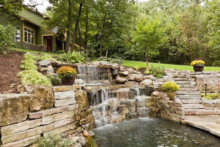 Landscaping ideas garden water feature