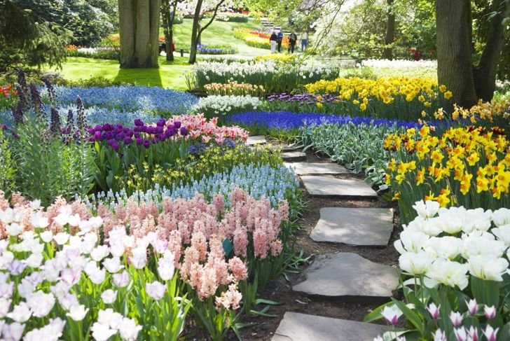 Landscaping ideas simple stone path garden path