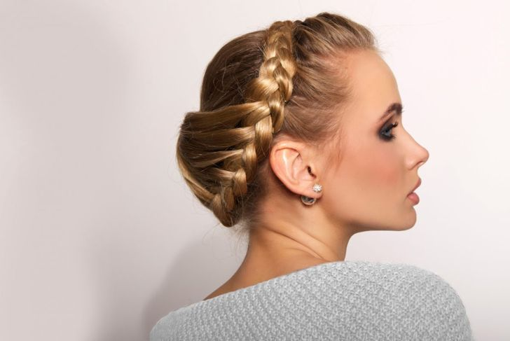 Show off your royal side with this crowning braid.