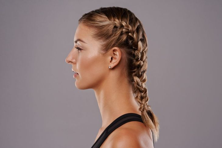 Neat braids on each side keep their style, even on busy days.