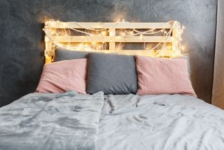 Get Creative in the Bedroom With These Easy DIY Headboard Ideas