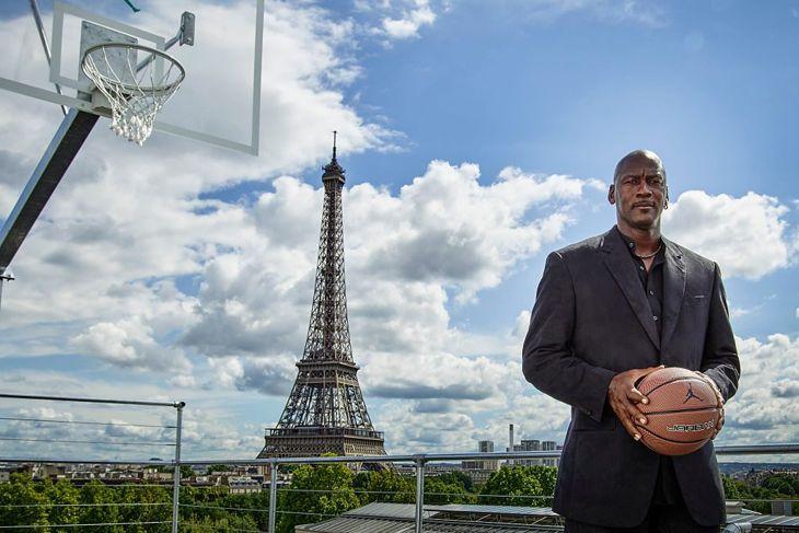 Michael Jordan celebrates brand anniversary