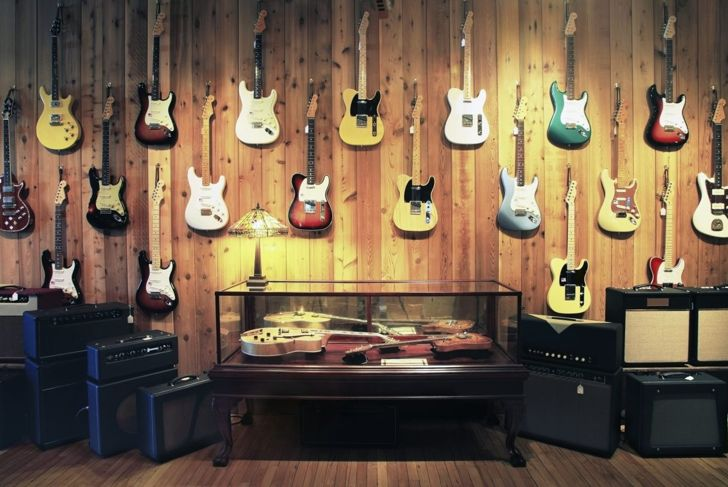 guitar speaker wall