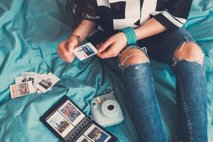 Mini Polaroid photo book