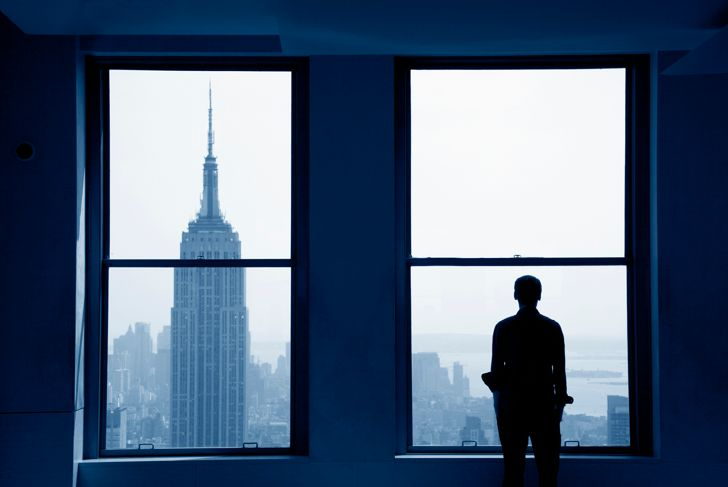 Empire State Building in view.