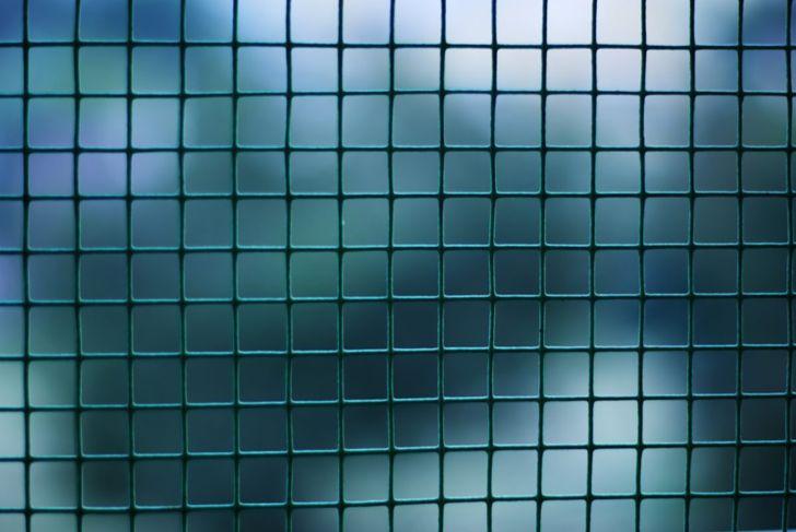 Hang steel mesh for space