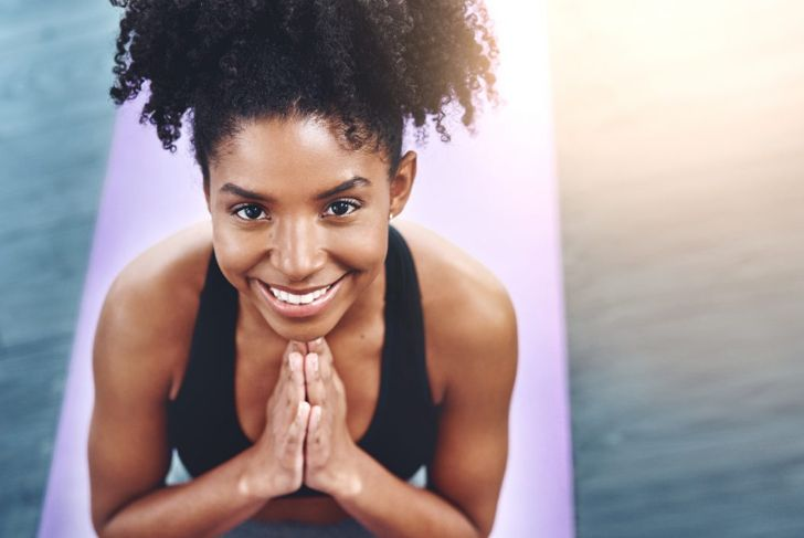 namaste after yoga