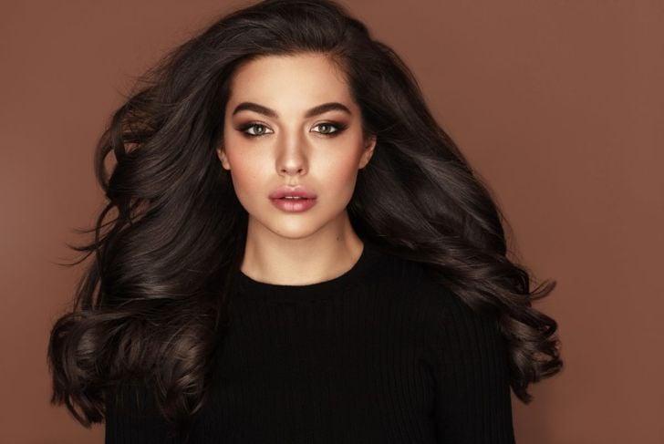 volume waves natural brunette