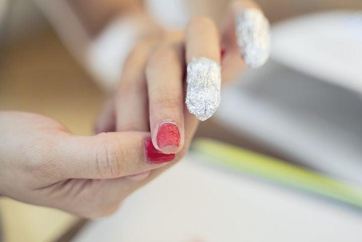 foil for nail polish