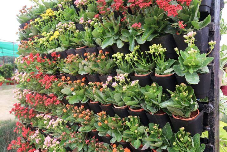 Make a standalone garden wall