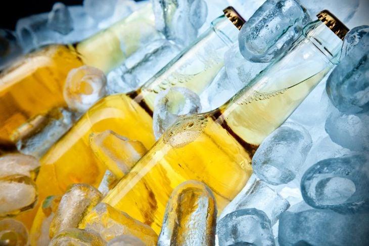 Beer or soda bottle