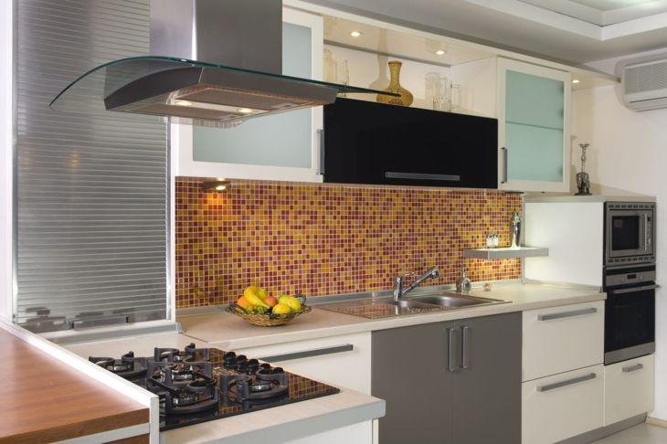 ceramic stone tile backsplash