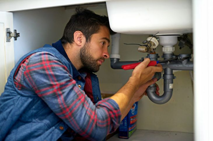 Leaky pipes encourage roach infestations