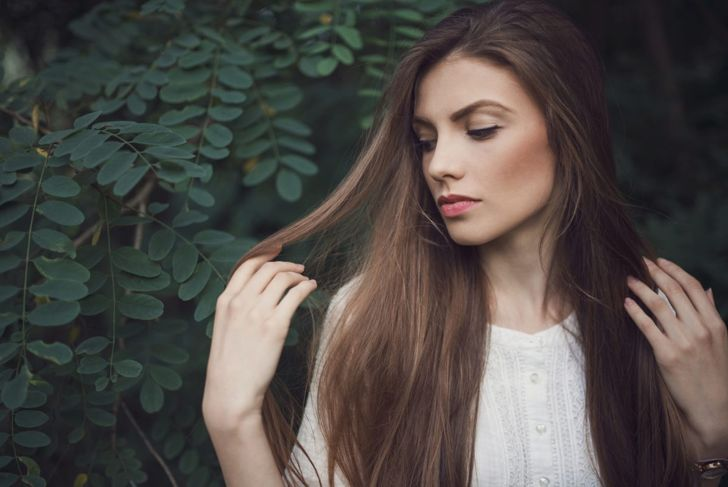 beautiful thick hair