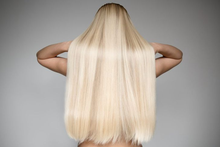 super long shape hair