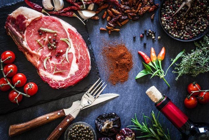 wine marinade for steak