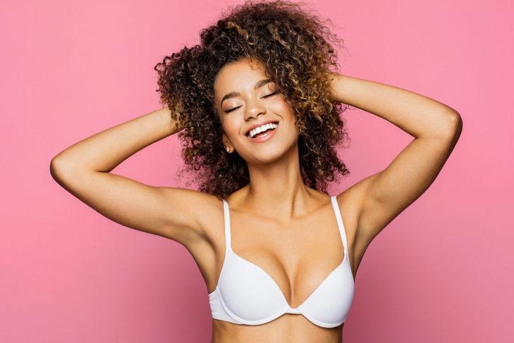 The right bra looks fantastic