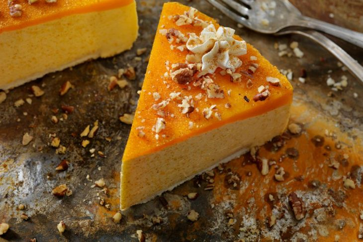 pumpkin cheesecake autumn dessert
