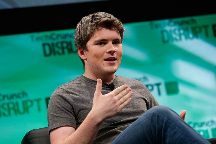 NEW YORK, NY - MAY 06:  John Collison speaks at TechCrunch Disrupt NY 2014 - Day 2 on May 6, 2014 in New York City.