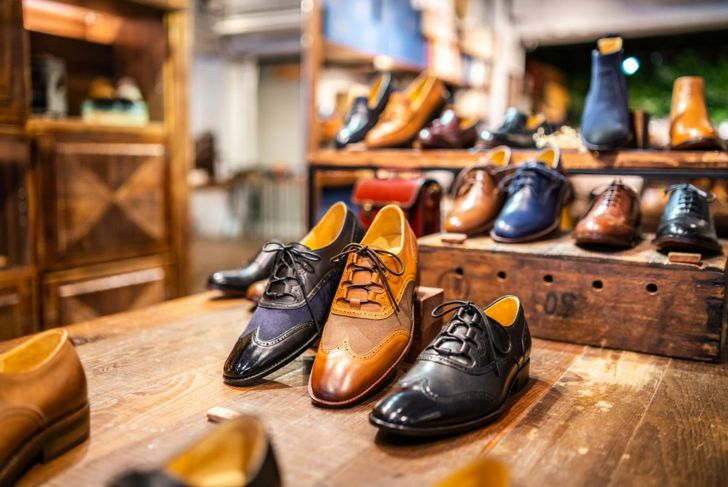 pairs of men's leather shoes
