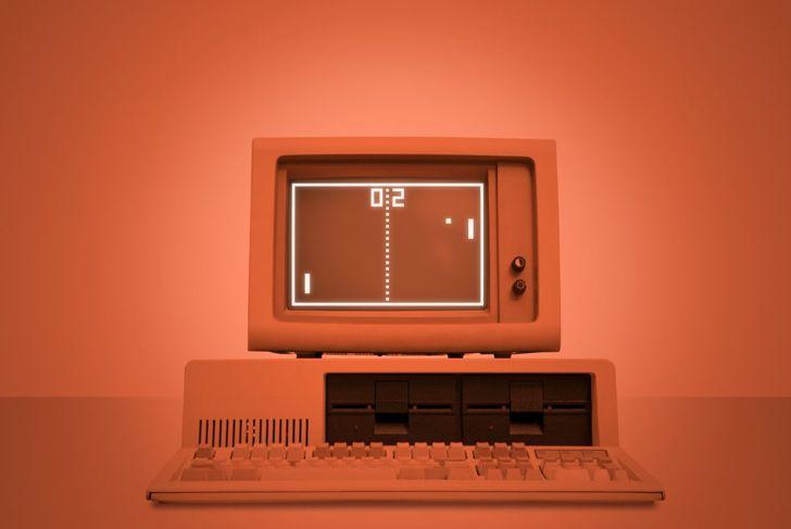 Pong ball-and-paddle Atari commercial success